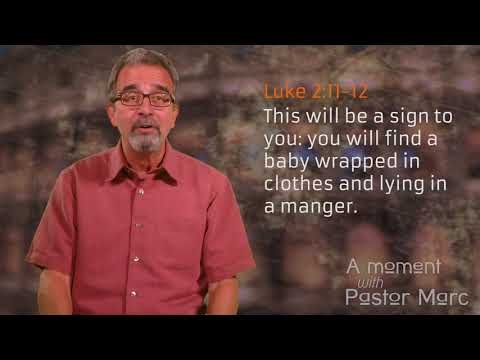 "A Moment with Pastor Marc #53<br /><strong>""Look For Jesus""</strong>"