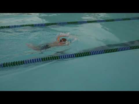 7/15/09 - Max swimming in the 25 yard Butterfly race