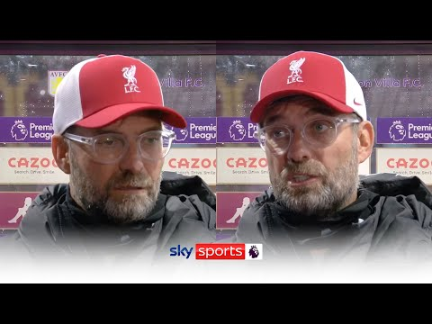 Jurgen Klopp speaks open and honestly after his side's shock 7-2 defeat to Aston Villa