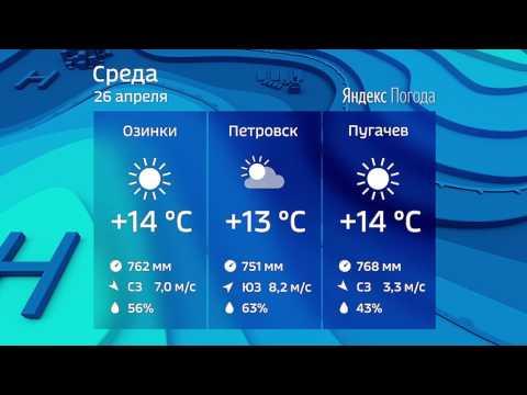 Прогноз погоды на 26.04.2017 - DomaVideo.Ru