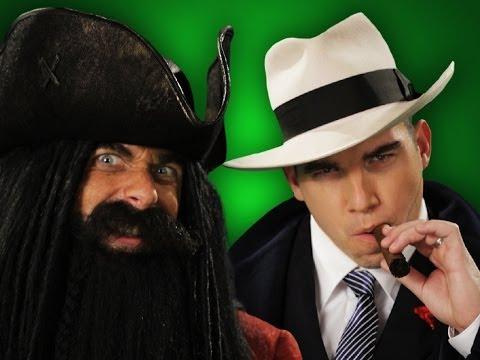 Epic Rap Battles of History - Behind the Scenes - Blackbeard vs Al Capone