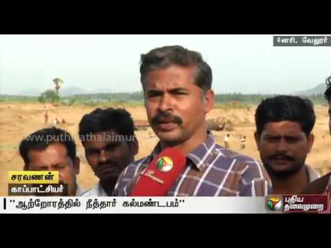 500-year-old-structure-excavated-at-Vellore-near-Pallikonda-during-sand-mining-at-Palar