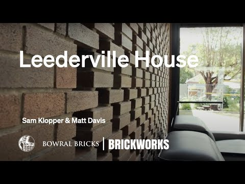 Built with Brickworks I Sam Klopper & Matt Davis I Leederville House