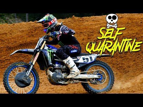 Justin Barcia Self Quarantine - Motocross Action Magazine