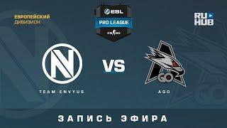 Team EnVyUs vs AGO - ESL Pro League S7 EU - de_cobblestone [CrystalMay, Smile]