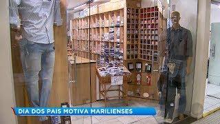Comércio de Marília espera aumento nas vendas do Dia dos Pais