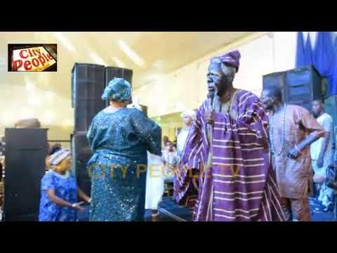 FADEYI & ORISA BUNMI Fantastic Display On Stage @ JIMOH ALIU AWORO 85th Birthday