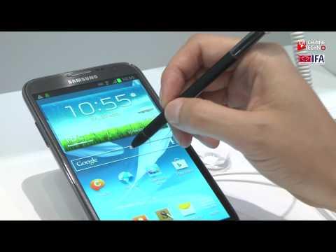 Les caract�ristiques de Galaxy Note II