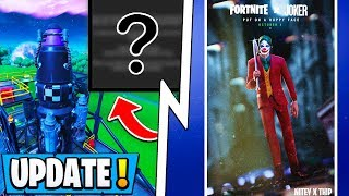 *NEW* Fortnite Update! | Event *Plan* Leaked, Joker Collab, Season 11 Halloween Skins!