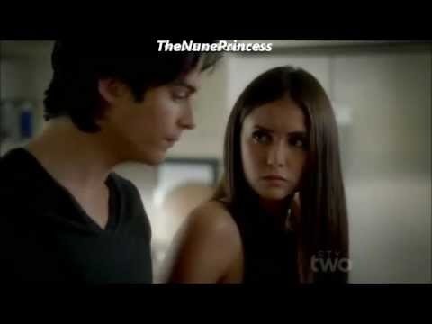 The Vampire Diaries - Season 3 Episode 4 // Damon and Elena kitchen scene