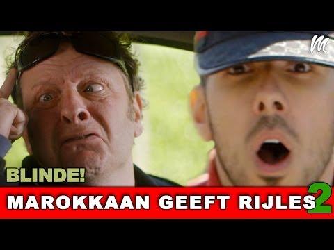 | MAROKKAAN GEEFT RIJLES! (Seizoen 2 aflevering 4) BLINDE!