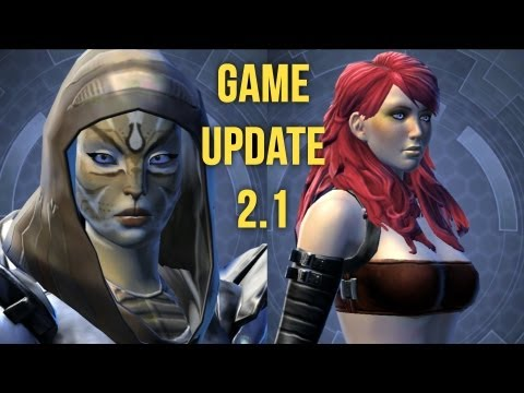 SWTOR - My initial thoughts on the Appearance Designer in the latest patch / game update of Star Wars: The Old Republic: New hairstyles, species change, dyes, cathar...