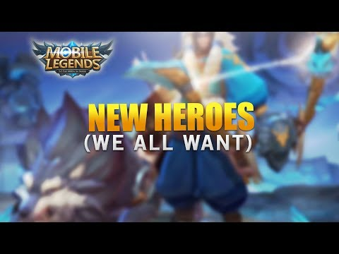 Mobile Legends: New Hero We Want! (Mounted Heroes, New Marksman Heroes & More) (видео)