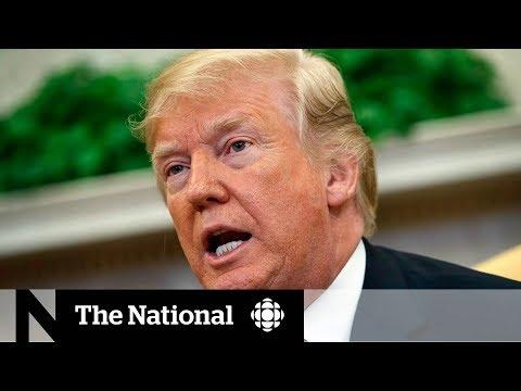 Trump criticizes Canada, NATO and its allies