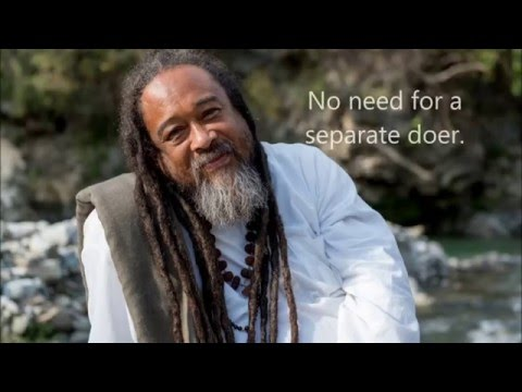 Mooji Quotes: No Need for a Separate Doer