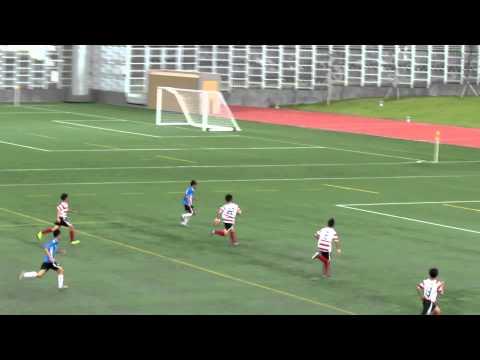 元朗飛馬vs深水埗(2012精英碟U15決賽)片段18之撲救單刀射門