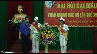 Phường Quang Trung tổ chức Đại hội cháu ngoan Bác Hồ
