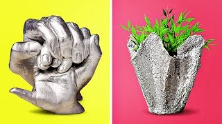 Video 11 COOL CRAFTS WITH CONCRETE AND CLAY MP3, 3GP, MP4, WEBM, AVI, FLV Juli 2018