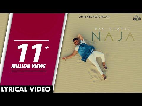 Video Naja (Lyrical Video) | Pav Dharia | Punjabi Lyrical Video 2017 | White Hill Music download in MP3, 3GP, MP4, WEBM, AVI, FLV January 2017