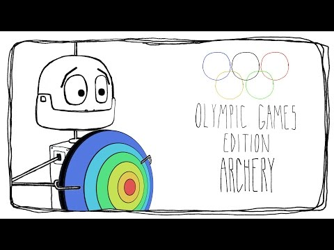FUNNY ANIMATED CARTOON WEB SERIES: 1000WAYS TO KILL A BOT OLYMPIC GAMES EDITION - ARCHERY