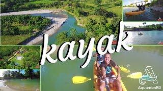 Kajak en Jamao al Norte – Río Yásica – AquamanRD