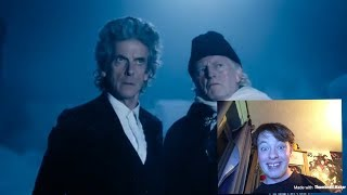 Here is my reaction of the Doctor Who Christmas Special Trailer 2017 Staring Peter Capadi and David Bradley.