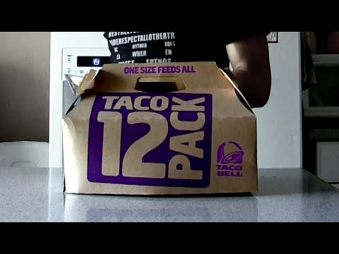 Matt Stonie Ate An Entire Taco Bell Party Pack In 1 Minute [WATCH]