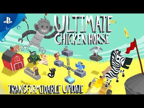 Ultimate Chicken Horse - Transformidable Update! | PS4 - Thời lượng: 97 giây.
