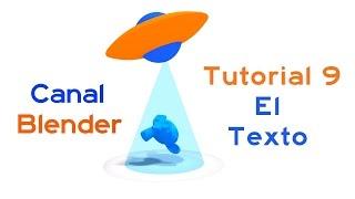 Curso Blender - 09 – El Texto 3D
