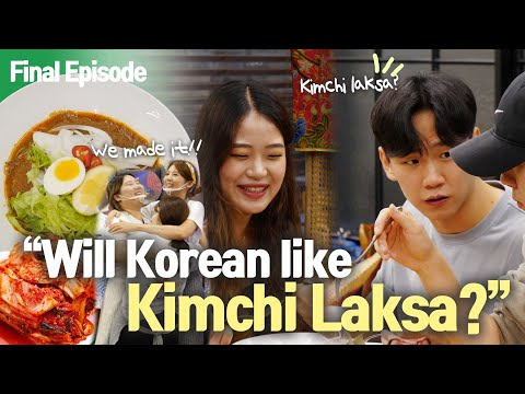 Will Korean people like Kimchi Laksa? |Nasi Lemak Stall in Seoul EP10