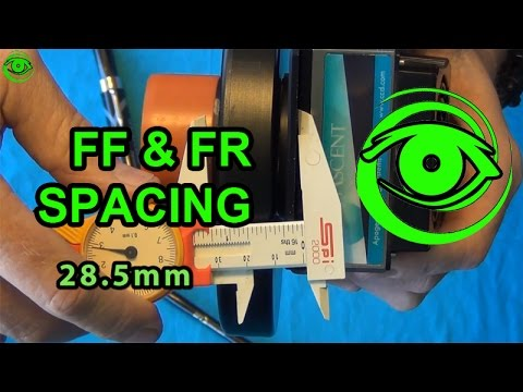 how to measure f spacing