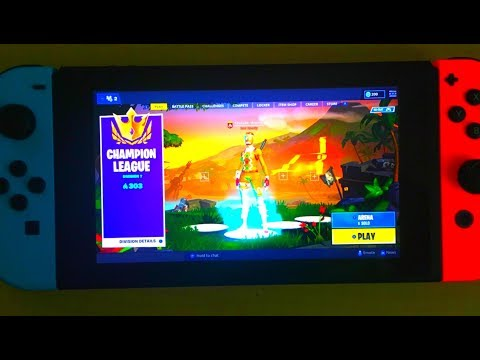 Nintendo Switch Player Makes Champions League (303 Pts) - Fortnite Arena