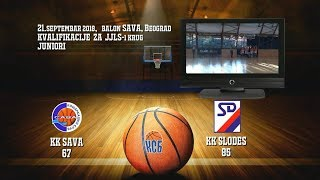 kk sava kk slodes 67 85 (juniori, 21 09 2018 ) košarkaški klub sava