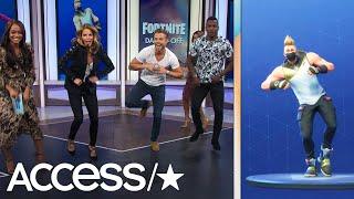 Video Derek Hough Absolutely Nails The 'Fortnite' Dance Challenge | Access MP3, 3GP, MP4, WEBM, AVI, FLV Oktober 2018