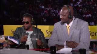 Video Kevin Hart on the Inside the NBA 2013 All Star Game half time show MP3, 3GP, MP4, WEBM, AVI, FLV Juli 2018