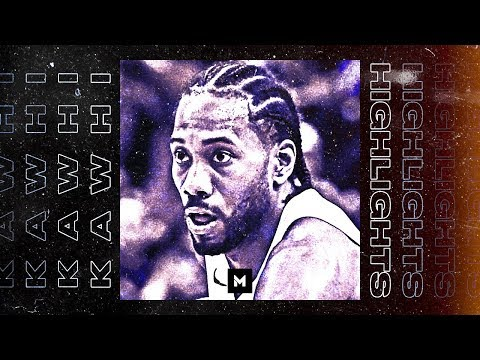 Kawhi Leonard BEST Highlights From 18-19 Season! SILENT BUT DEADLY!