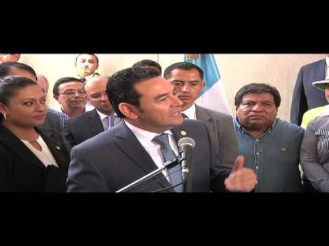 Presidente Morales felicita a nuestro Alcalde Arzú