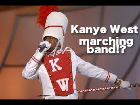 Kanye West has a marching band!
