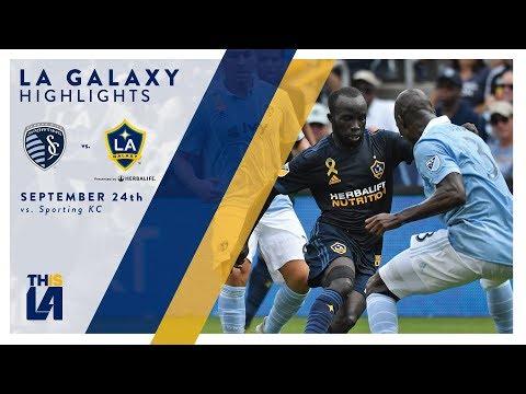 Video: HIGHLIGHTS: LA Galaxy vs. Sporting Kansas City | September 24, 2017