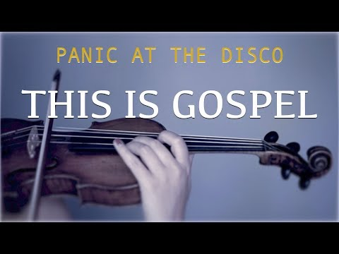 Panic! At The Disco - This Is Gospel for violin and piano (COVER)