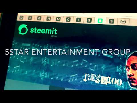 Steeming (Steemit Anthem) Official Music Video By Five Star Entertainment Group Artist REST100