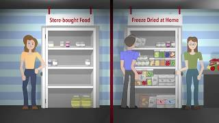 Harvest Right Freeze Dryer vs. Store-bought Freeze Dried Food