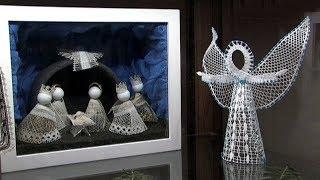 Spolek ručních řemesel uspořádal výstavu betlémů