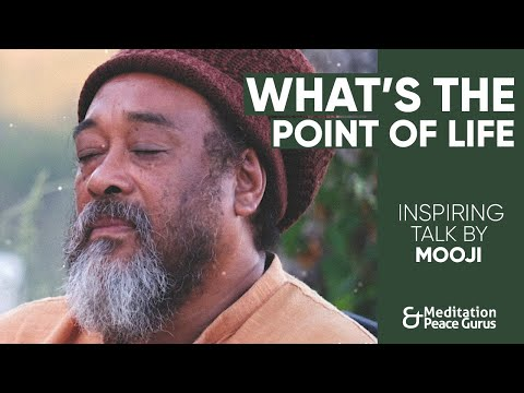 Mooji Audio: What's the Point of Life? (Why are we here?)