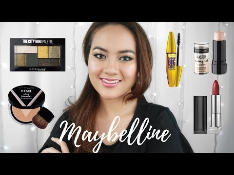 Maybelline One Brand Makeup Tutorial + HONEST REVIEW MAKE IT BRONZE KIT