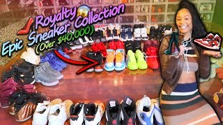 Giving Away Royalty's $40,000 Epic Sneaker Collection Prank!