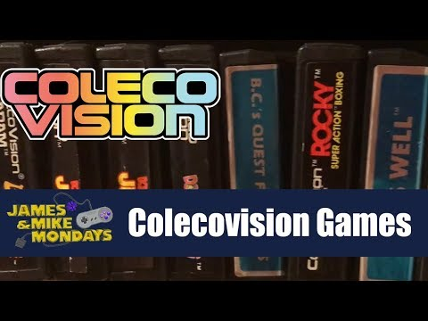 ColecoVision Games (Part 1) James & Mike Mondays