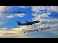 [LHR Spotting!] Widebody Takeoffs! 27L Airside! HD!
