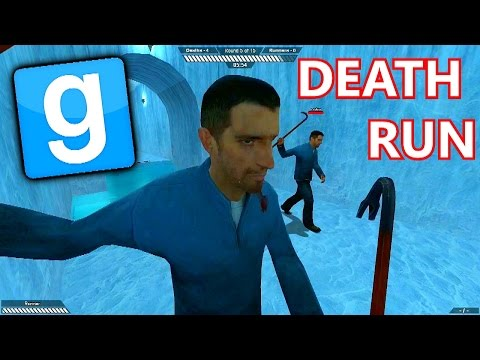 GMOD Death Run #1 with The Sidemen (Garry's Mod Deathrun) (видео)