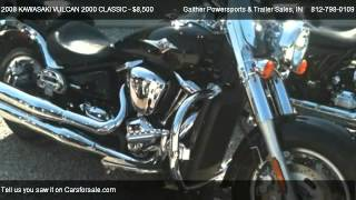 6. 2008 KAWASAKI VULCAN 2000 CLASSIC  - for sale in Linton, IN 47441